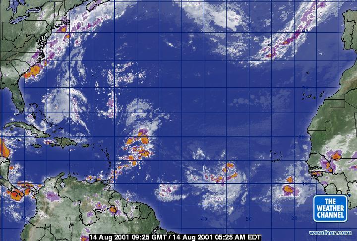 weather.com - Atlantic Ocean Satellite