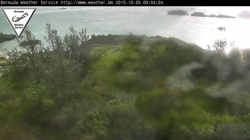 Bermuda Weather Service Webcame Recording of Joaquin (2015) Approach
