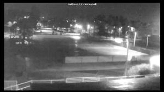 Gulfport, FL South Shore Blvd Volleyball Webcam Recording Colin Approach (2016)