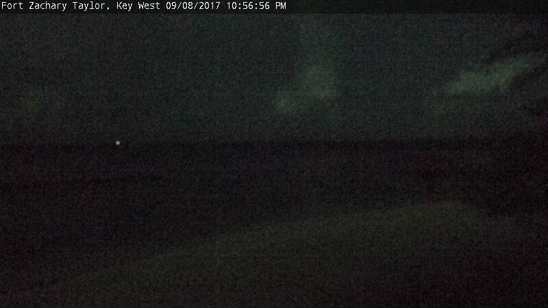 Fort Zachary Taylor Webcam Keys Irma (2017)