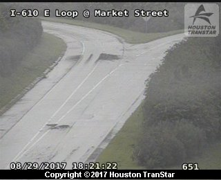 IH-610 East Loop at MARKET STREET (Harvey 2017)