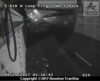H-610 West Loop at Frontage Road at Westpark (Harvey 2017)