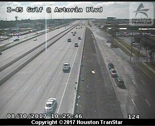 I45 and Astoria (Harvey 2017)