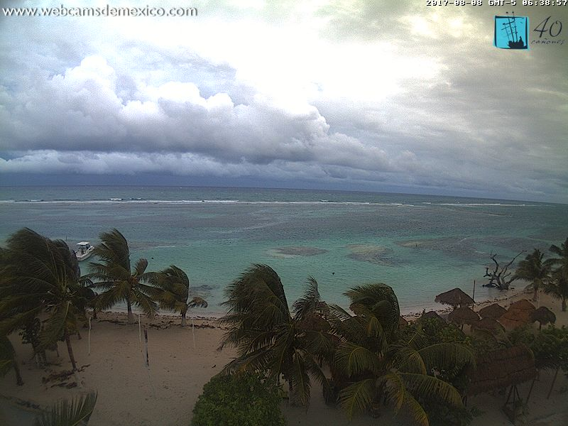 Mahahual / Costa Maya Webcam (Franklin 2017)