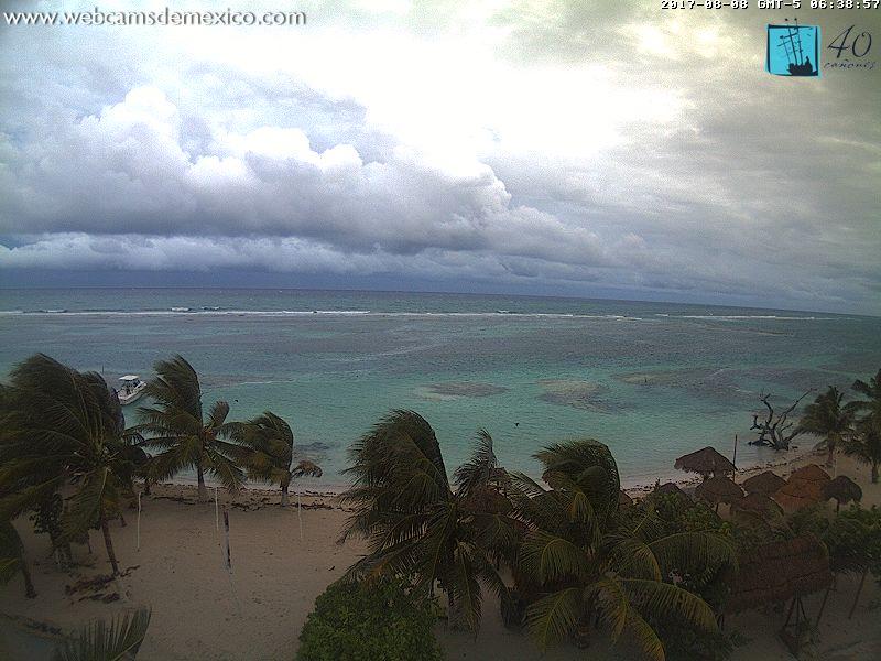 Mahahual / Costa Maya Webcam (Franklin 2017)