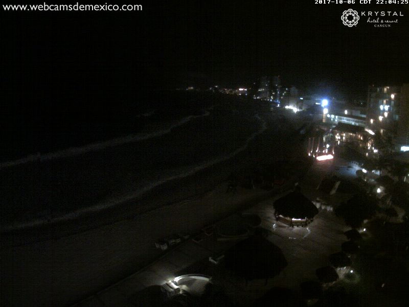 Punta Cancún Webcam (Nate 2017)