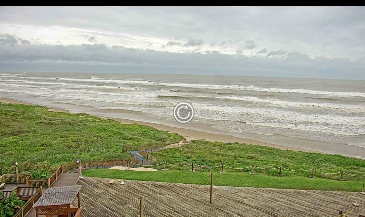 South Padre North Beach Webcam Harvey (2017)