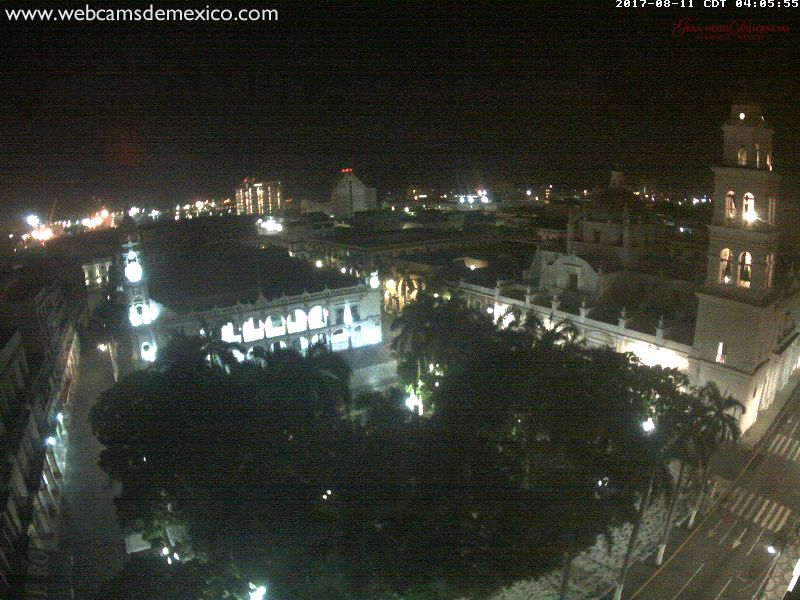 Veracruz El Gran Hotel Diligencia Webcam (Franklin 2017)