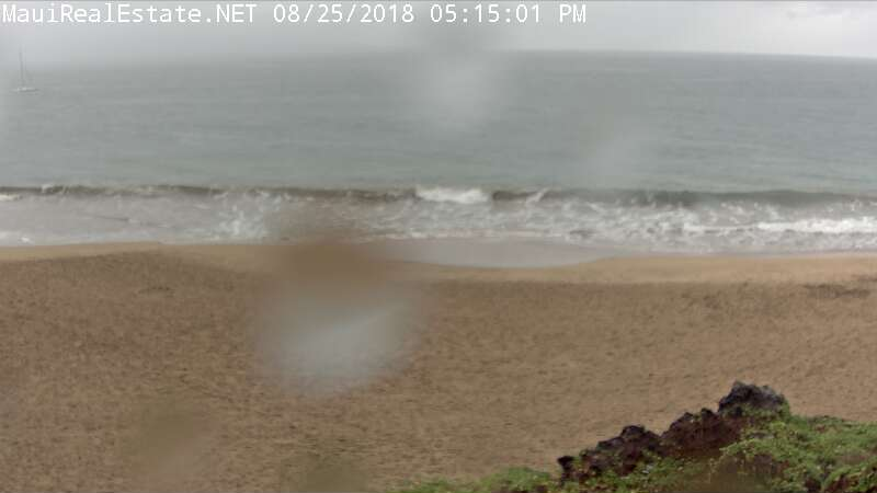 Kihei Hawaii Beach Cam Maui for Lane Approach (2018)