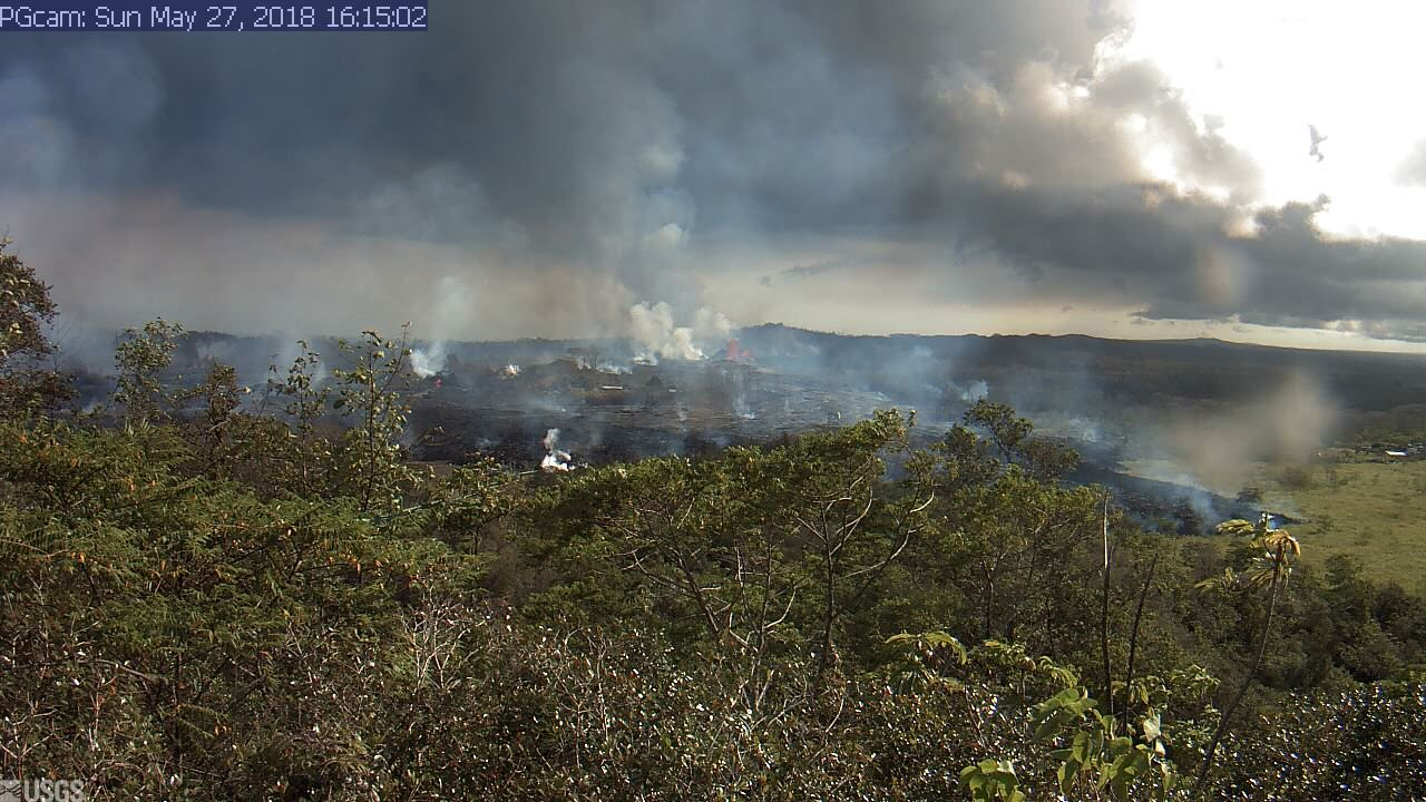 Panorama of Lower East Rift Zone Camera from Lower East Rift Zone  (2018)