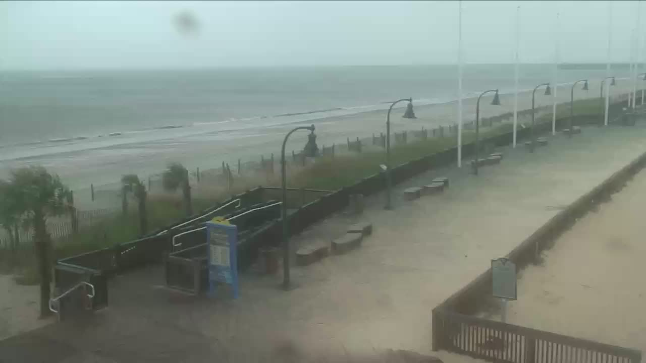 Myrtle Beach Earthcam for Florence Approach (2018)