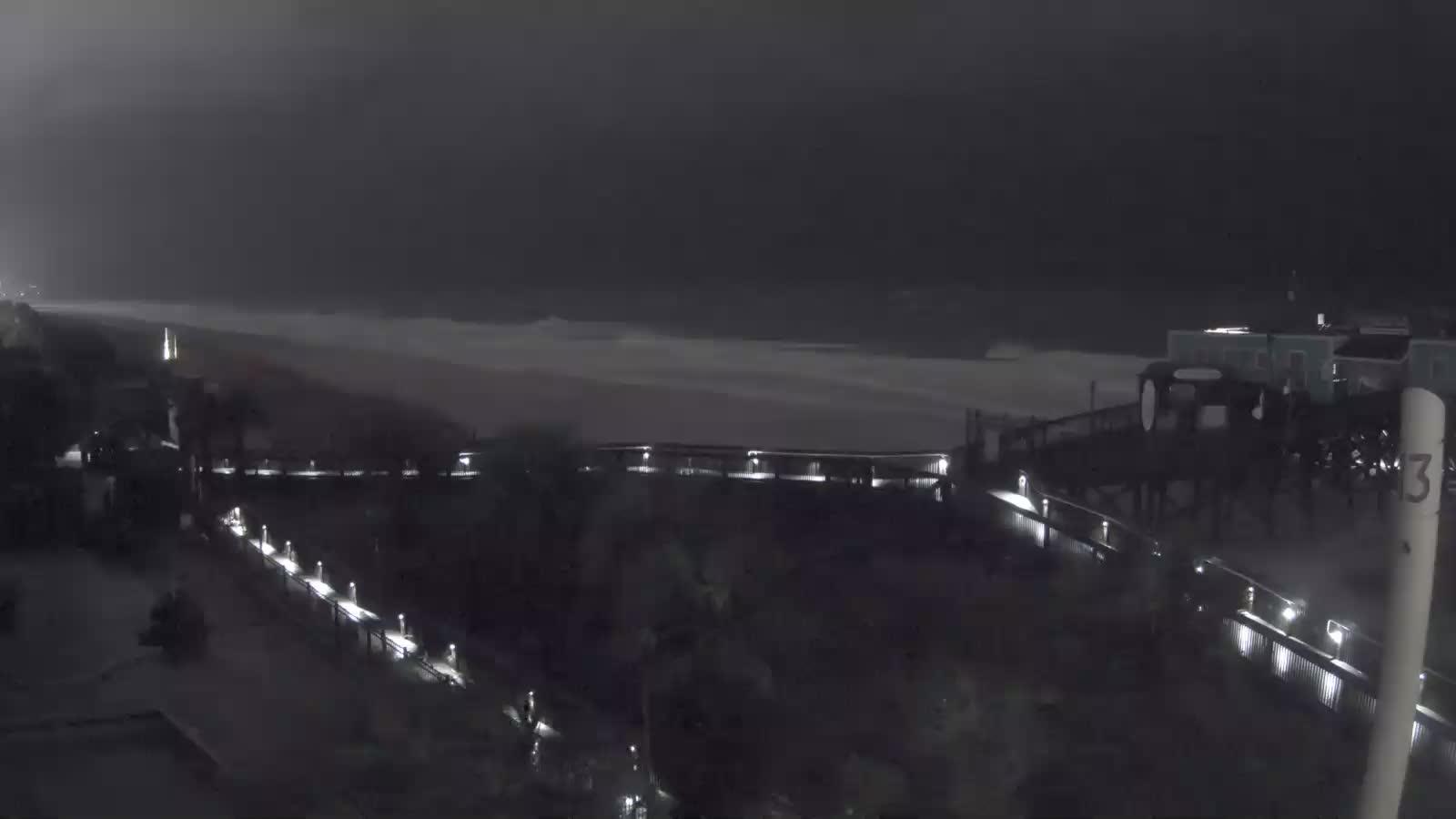 Riptydz Myrtle Beach Webcam Recording for Florence Approach (2018)