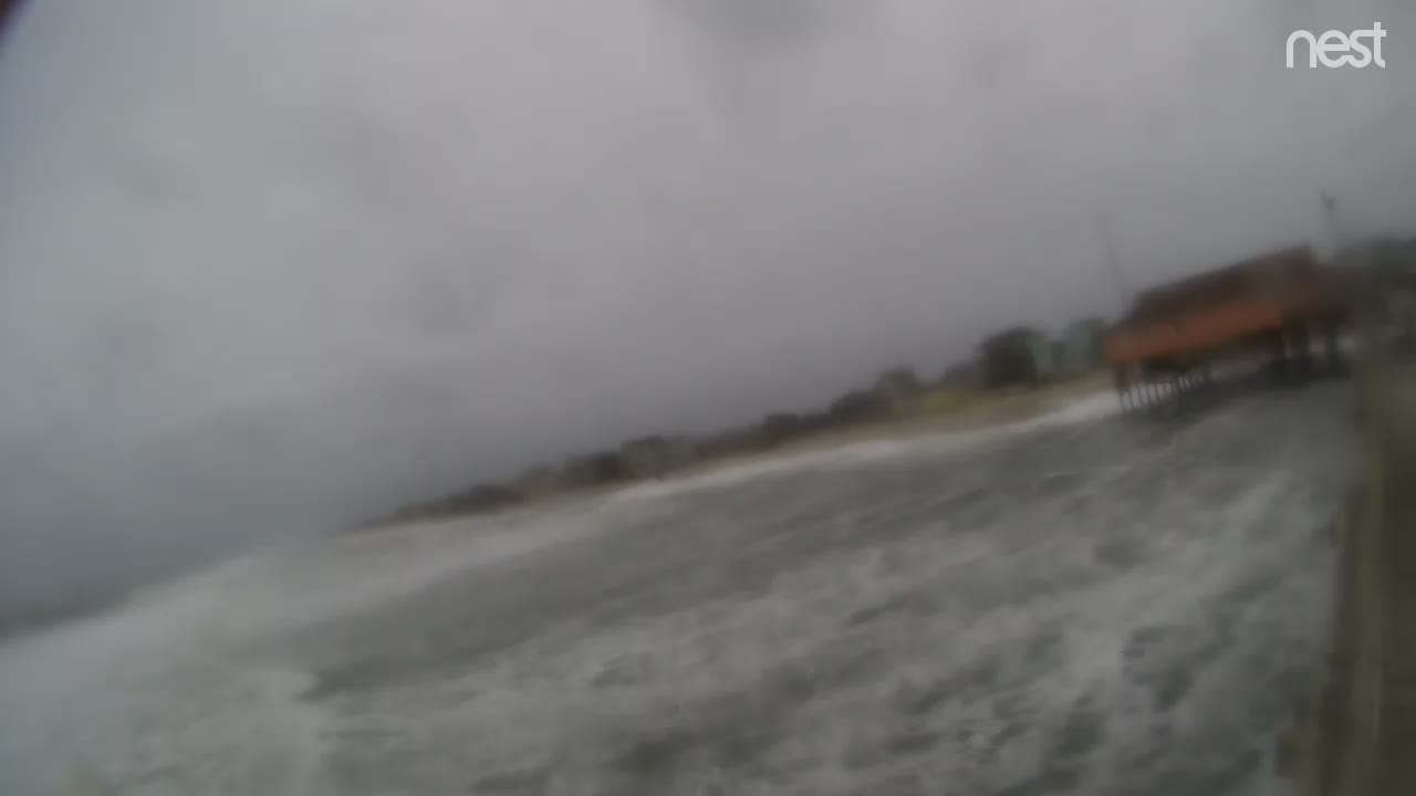 HurricaneTrack Rodanthe Pier Cam Florence (2018)