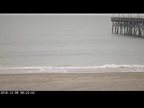 Ocean Isle Beach NC Webcam for Florence (2018) Approach
