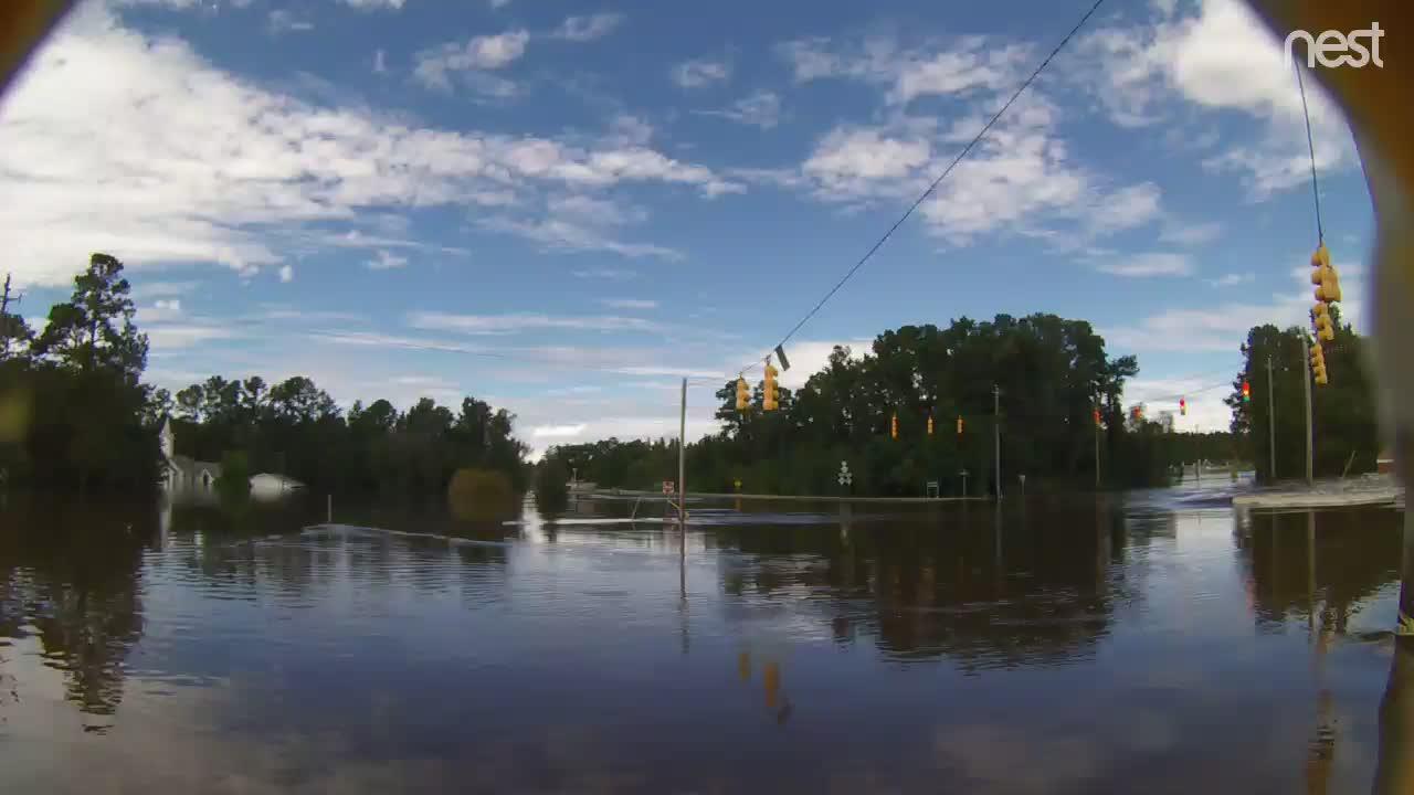 Manchester near Spring Lake, NC Flood Cam Florence (2018)