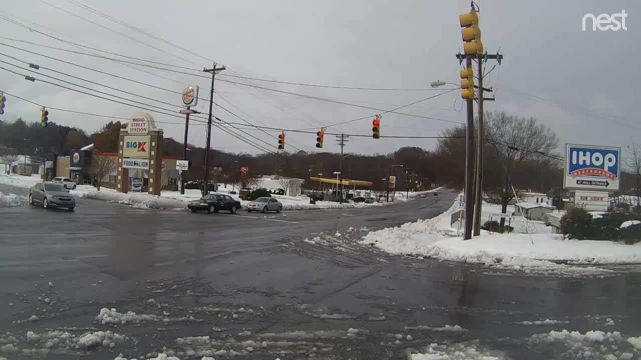 HurricaneTrack Statesville, NC Cam Dec Snowstorm (2018)