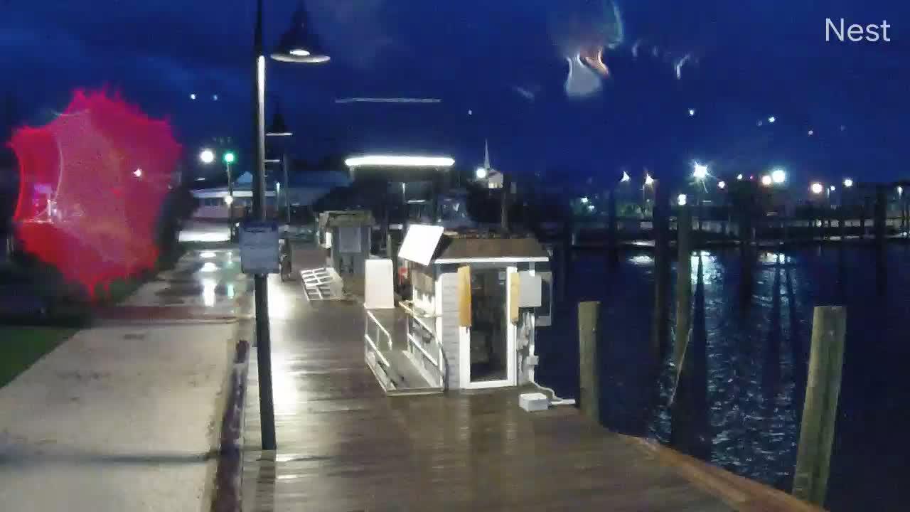 HurricaneTrack Carolina Beach Cam Dorian (2019)