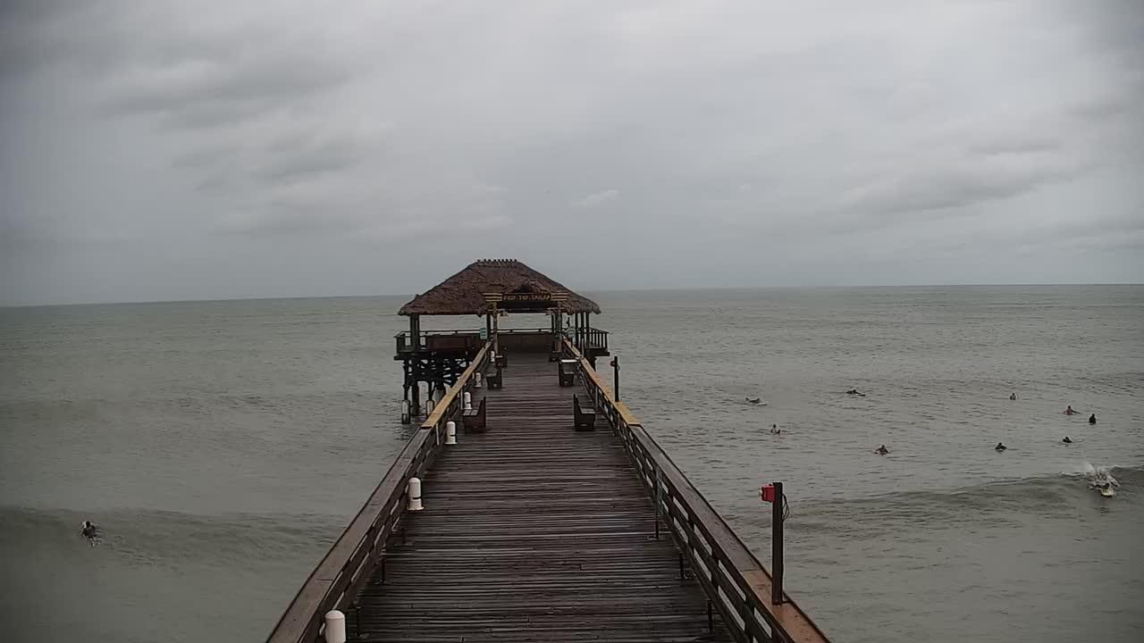 Cocoa Beach Pier Cam Dorian (2019)