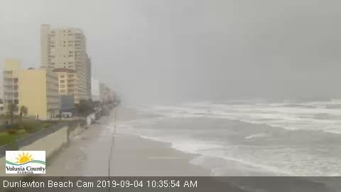 Daytona Beach Beach Cam Dorian (2019)