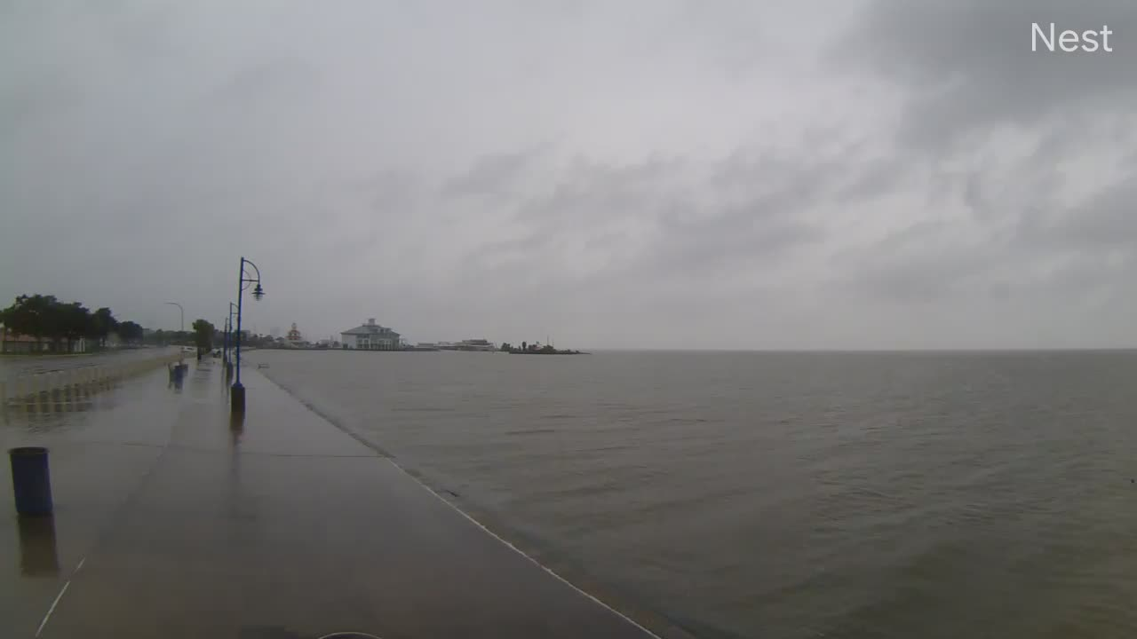 Lakefront NOLA Hurricane Track Cam 6 Recording Barry (2019)