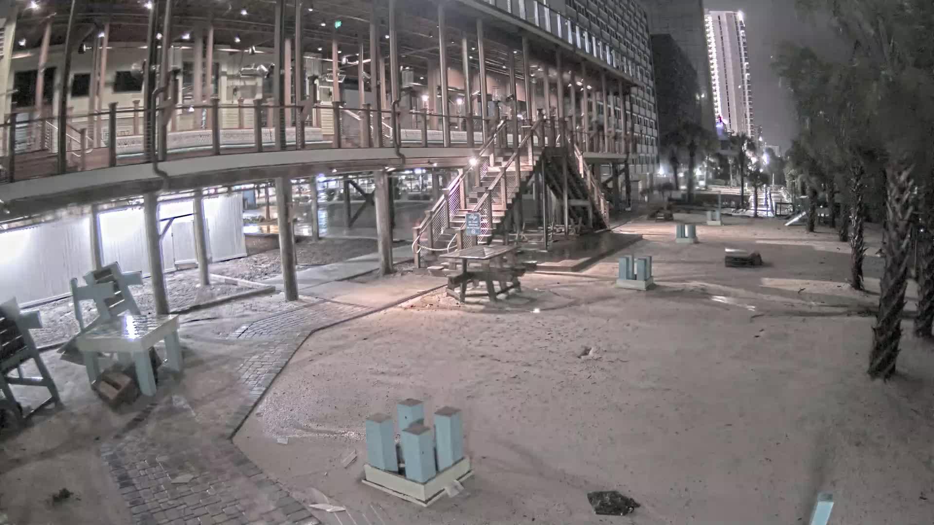 Riptydz Myrtle Beach Webcam 2 Recording for Dorian Approach (2019)