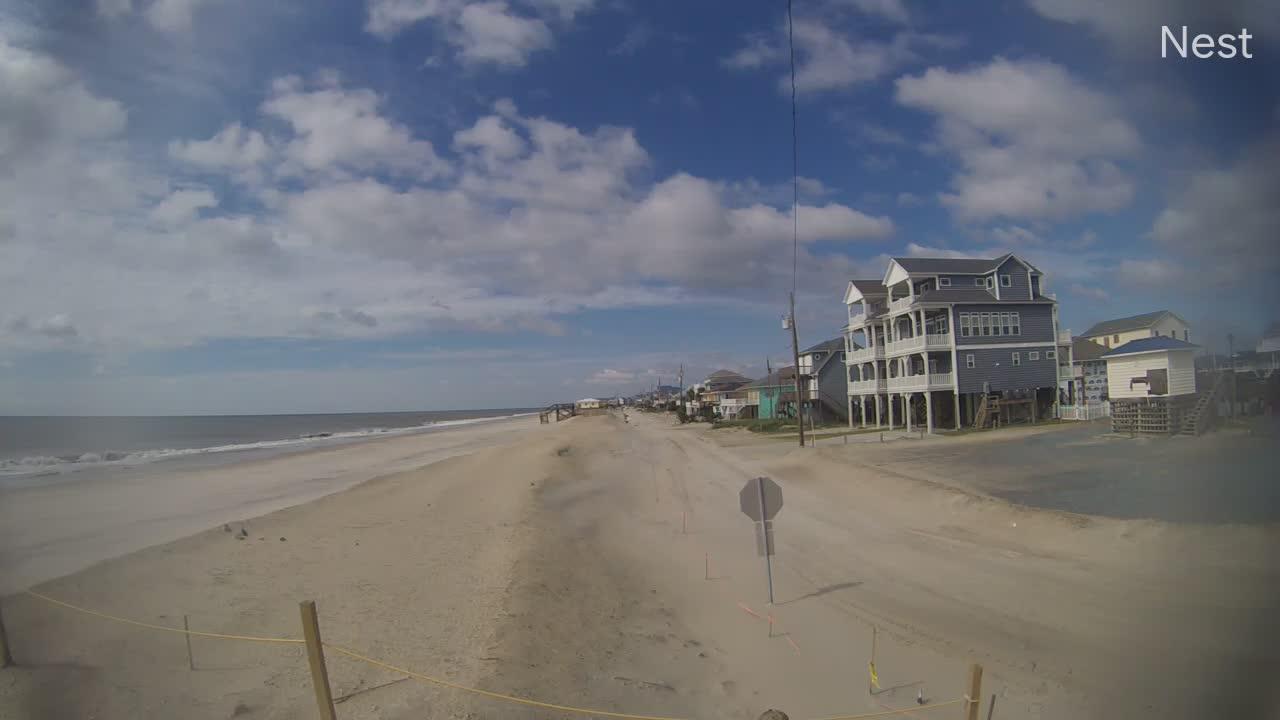 Surf City, NC Hurricane Track Cam 9 Recording Dorian (2019)