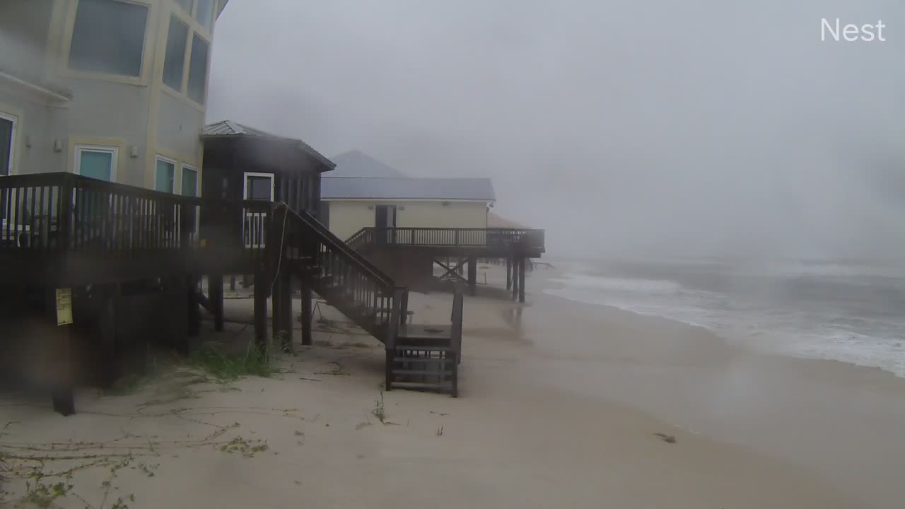 Fort Morgan, AL HurricaneTrack Cam 4 Recording Sally (2020)