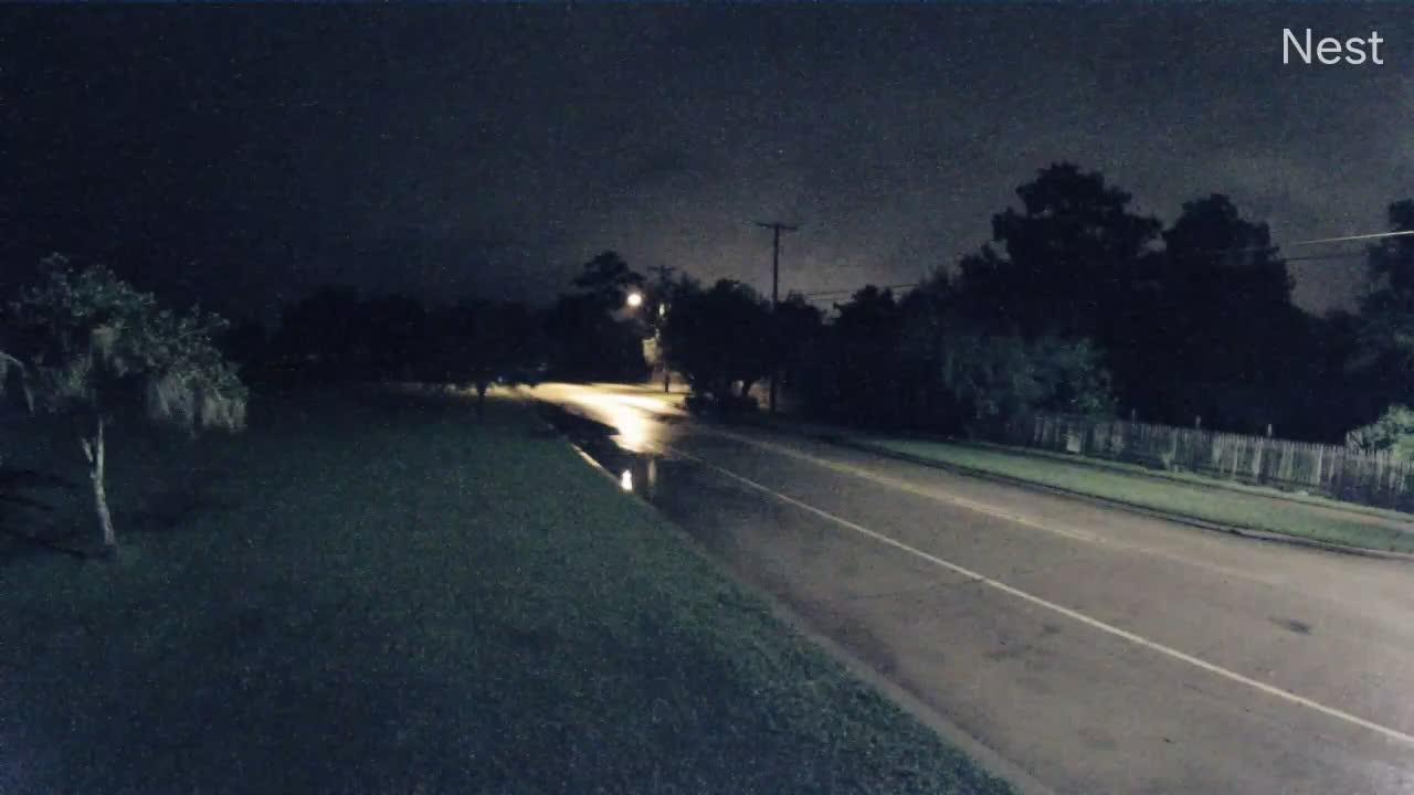 Mandeville, LA Hurricane Track Cam 8 Recording Cirstobal (2020)