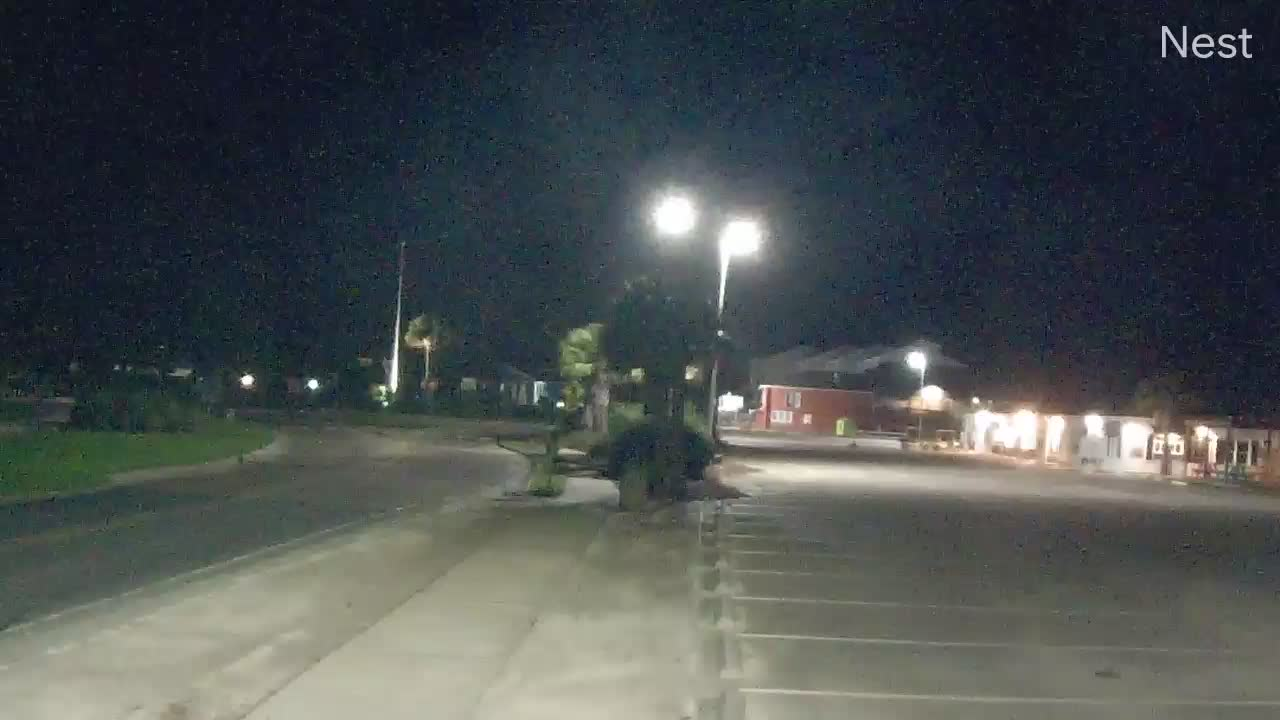 Ocean Isle Beach, NC Hurricane Track Cam 8 Recording Isaias (2020)