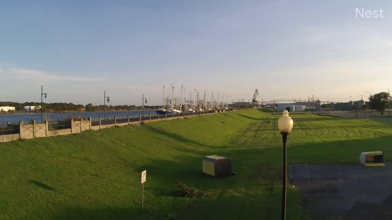 Port Arthur, TX Hurricane Track Cam 10 Recording Laura (2020)