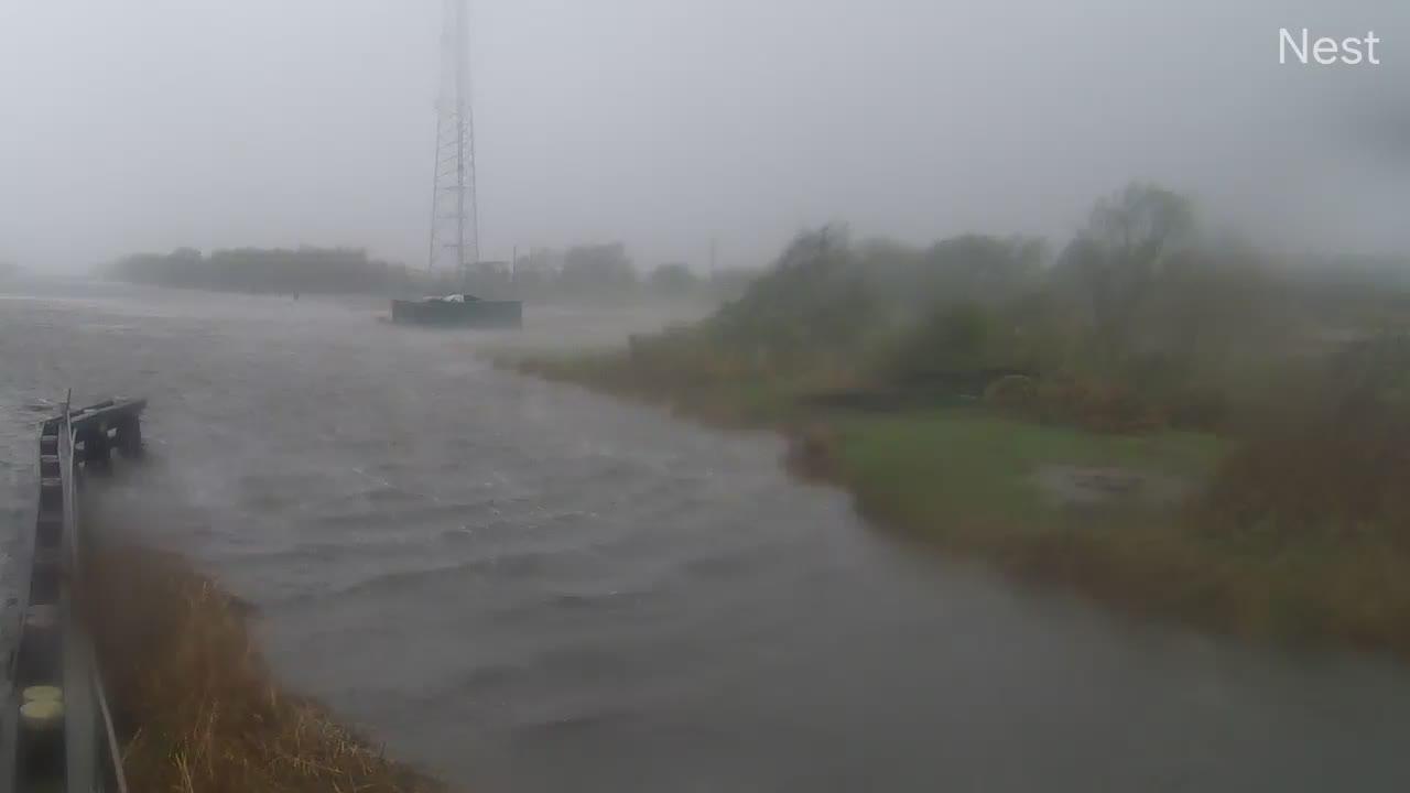 Hurricanetrack.com Pecan Island Cam Delta (2020)