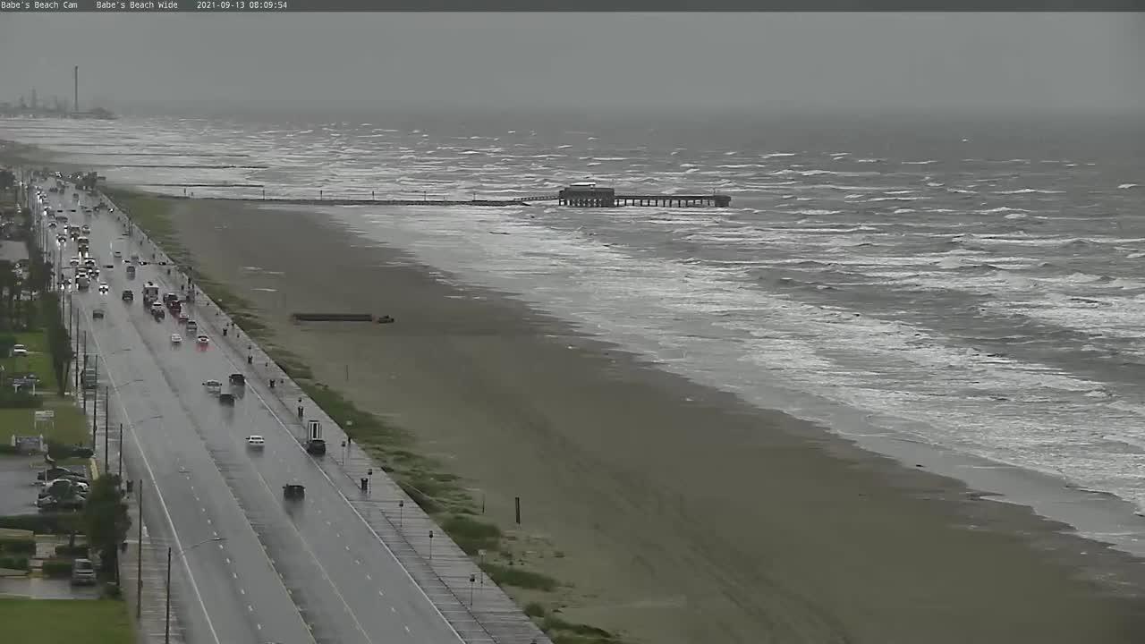 Galveston Beach Cam - Nicholas (2021)