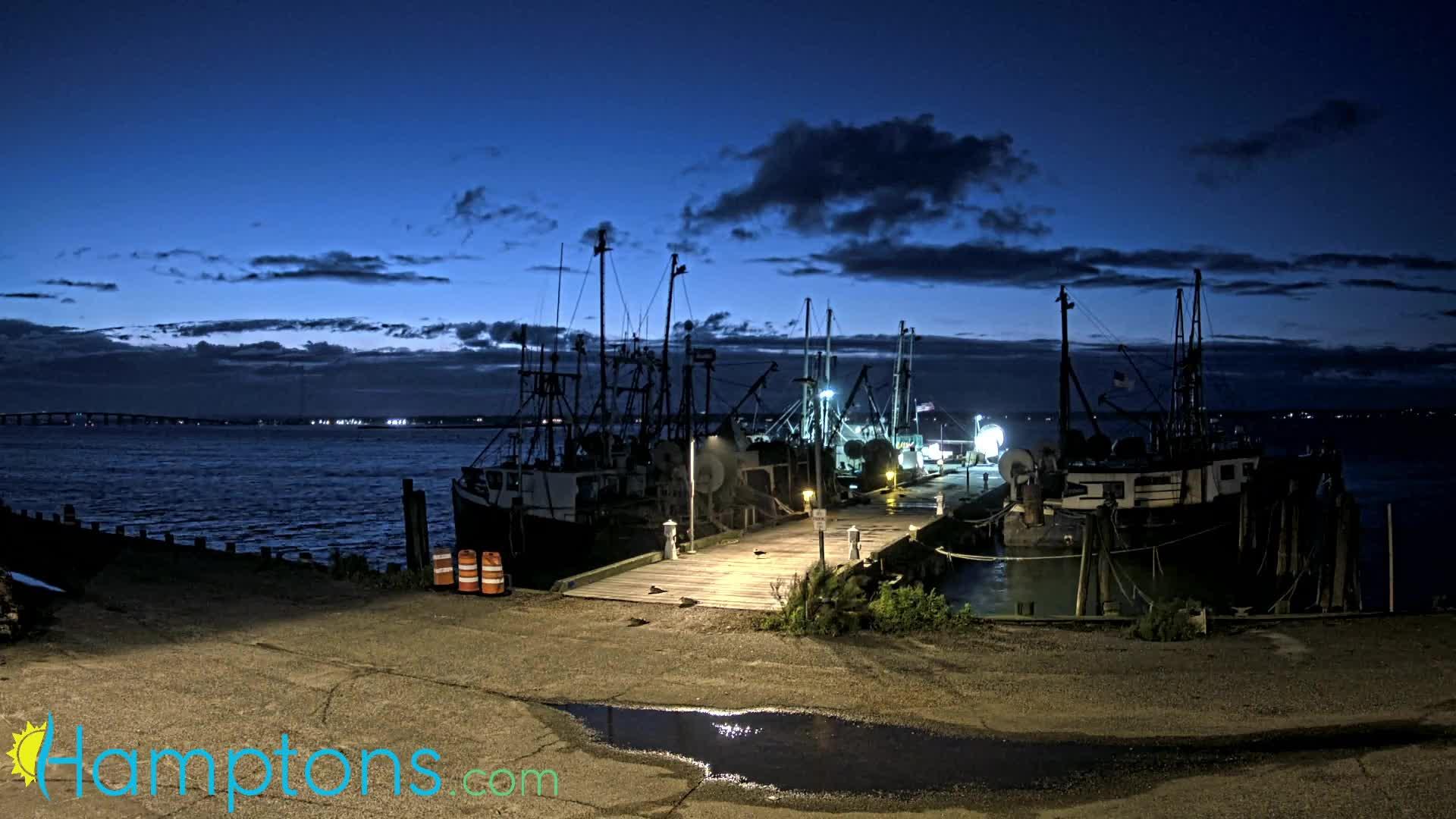 Shinnecock Fishing Dock, Hampton Bays, New York Henri (2021)