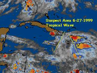 This Area has a chance if it moves into the western Caribbean